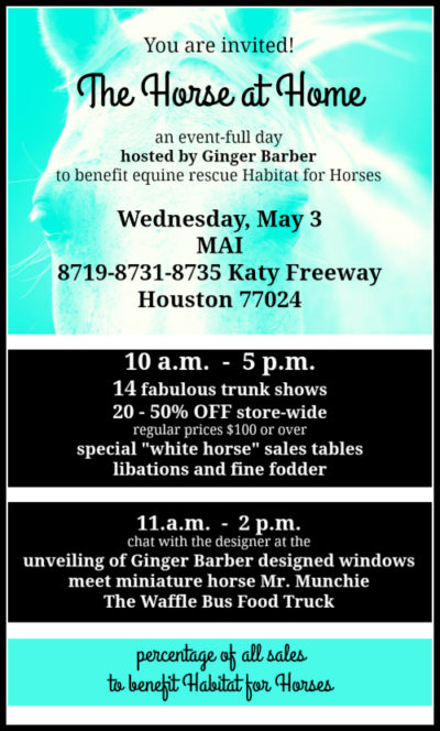 Ginger Barber event at MAI